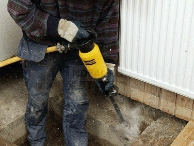 сверление бетонного фундамента