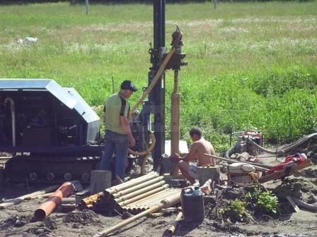 бурение скважины в Тосненском районе