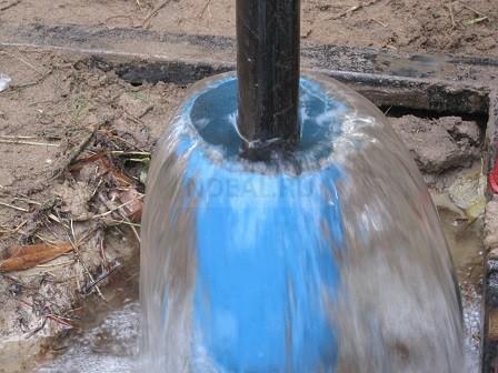 вода при промывке