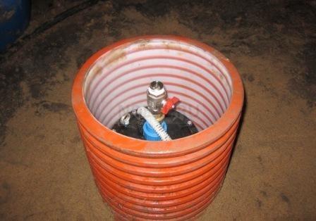 установка дополнительного крана для полива