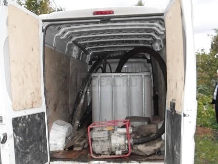 куб на 1000 литров воды для промывки скважины