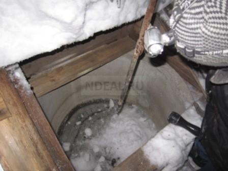 замерзание колодца