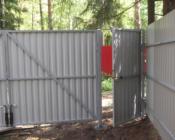 калитка с воротами