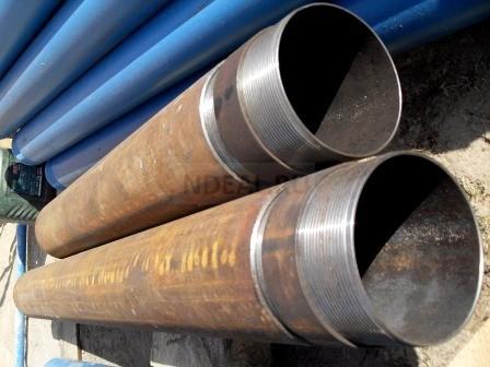 обсадные железные и пластиковые трубы
