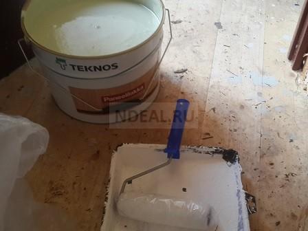 покраска помещения