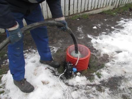 промывка скважины под давлением