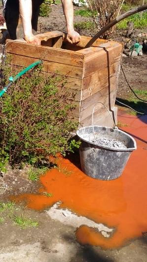 промывка скважины с превышением железа
