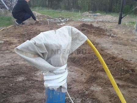 скважина в Тосненском районе