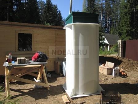 установка станции био очистки