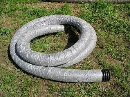 труба перфорированная для слива очищенной воды