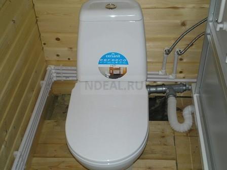 подключение туалета