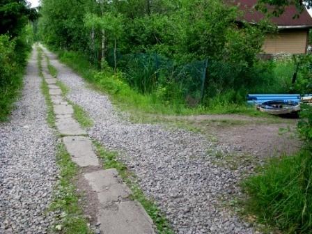 узкие улицы садоводства