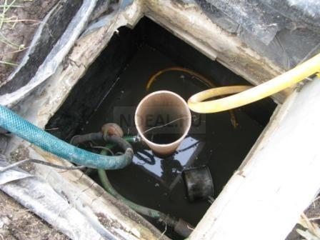 установка насоса на скважинный адаптер