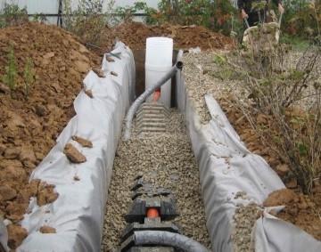 установка тоннеля фильтрации в один ряд