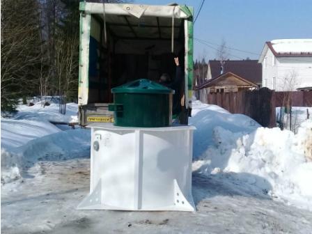 доставка станции биологической очистки