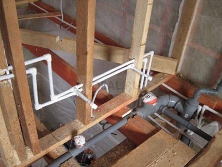 прокладка водопроводной трубы