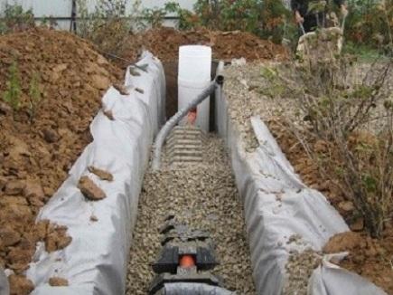 фильтрационный тоннель в один ряд