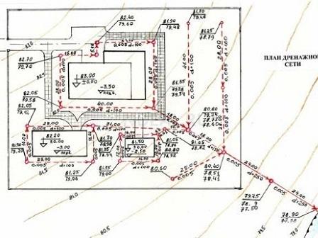 план дренажной системы