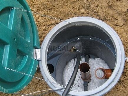 заполняем систему водой
