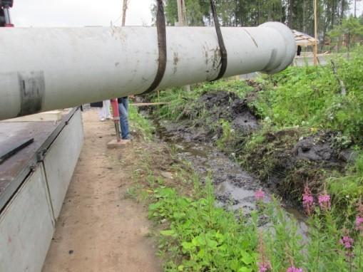 5 метров бетонная труба