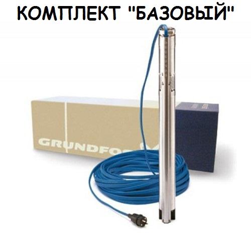 Установка насосного оборудования в скважину «Базовый комплект»
