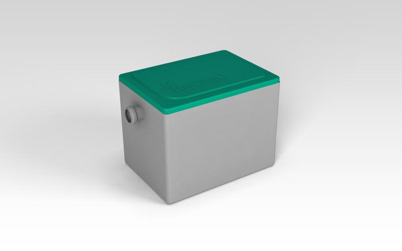 Жироуловитель «Rostok» производительностью 0,5 м3/час (0,15 л/с)