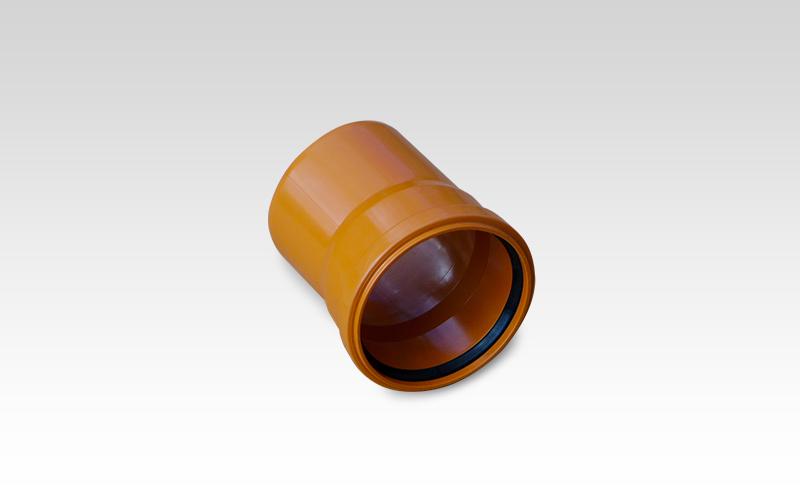 Отвод ПВХ 15° d=110 мм