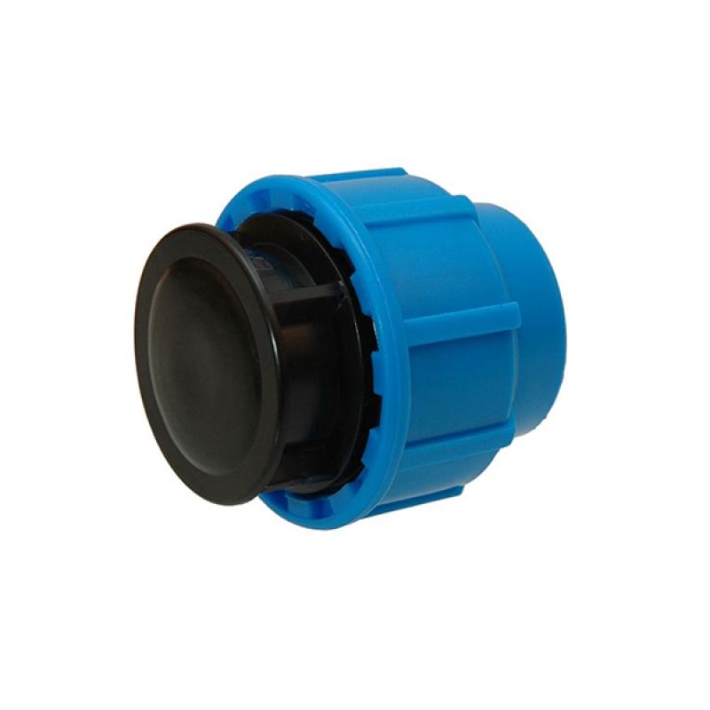 Заглушка компрессионная РосТурПласт для ПЭ труб PN16 d 32 мм